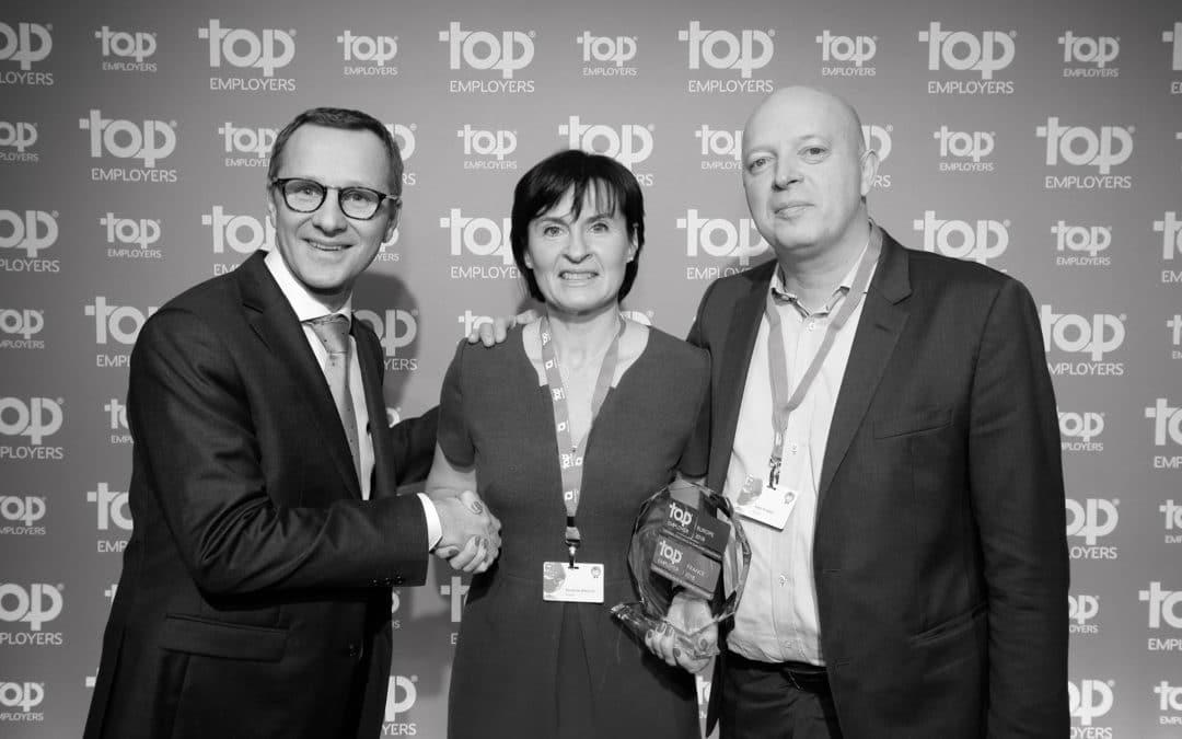 "Scania certifié ""Top Employer 2018"""